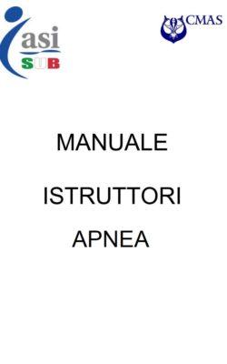 manuale istruttore apnea